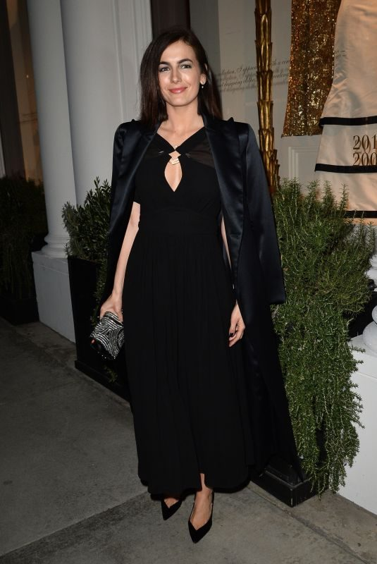 CAMILLA BELLE Leaves Giorgio Armani Pre-oscar Party in Los Angeles 02/23/2019