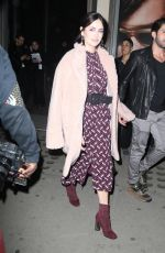 CAMILLA BELLE Leaves Michael Kors Immersive Experience in New York 02/05/2019