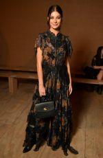 CAMILLA MORONE at Coach Show at New York Fashion Week 02/12/2019
