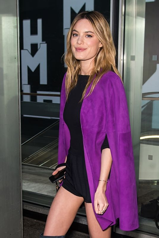 CAMILLE ROWE at Longchamp Show at New York Fashion Week 02/09/2019
