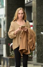 CANDICE ACCOLA Out for Lunch at Joan