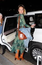 CANDICE SWANEPOEL Leaves Prabal Gurung Fashion Show in New York 02/10/2019