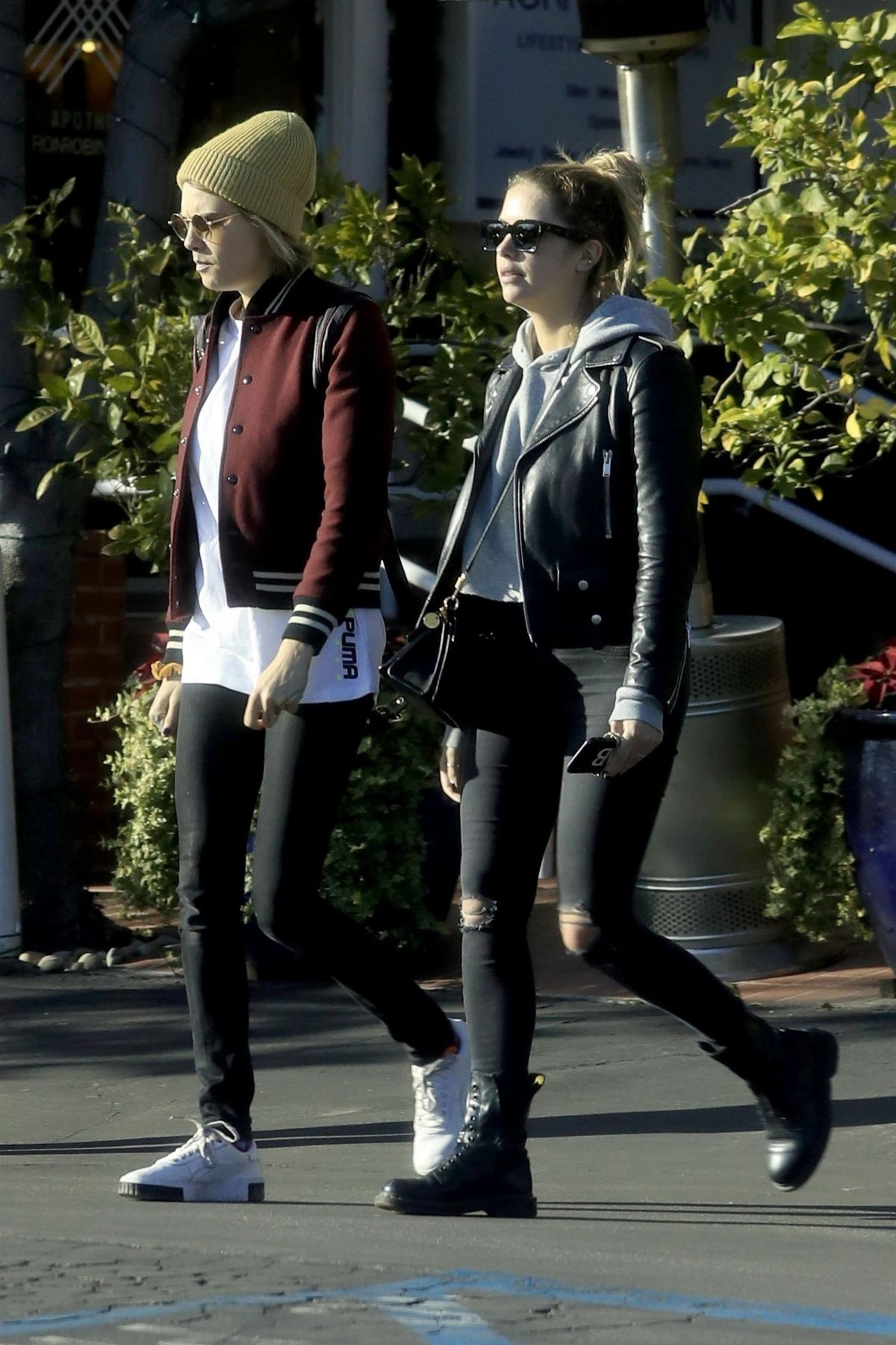 Cara Delevingne And Ashley Benson At Fred Segal In West