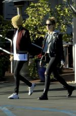 CARA DELEVINGNE and ASHLEY BENSON at Fred Segal in West Hollywood 02/06/2019