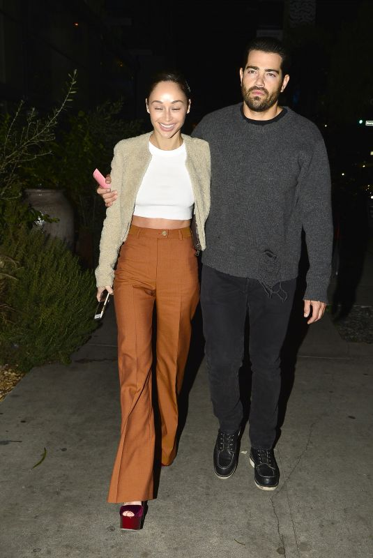 CARA SANTANA and Jesse Metcalfe Out in Los Angeles 02/05/2019