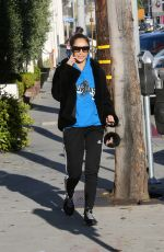 CARA SANTANA Out and About in Beverly Hills 02/05/2019