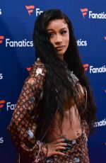 CARDI B at Fantastic Super Bowl Party in Atlanta 02/02/2019