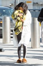 CARDI B at JFK Airport in New York 01/31/2019
