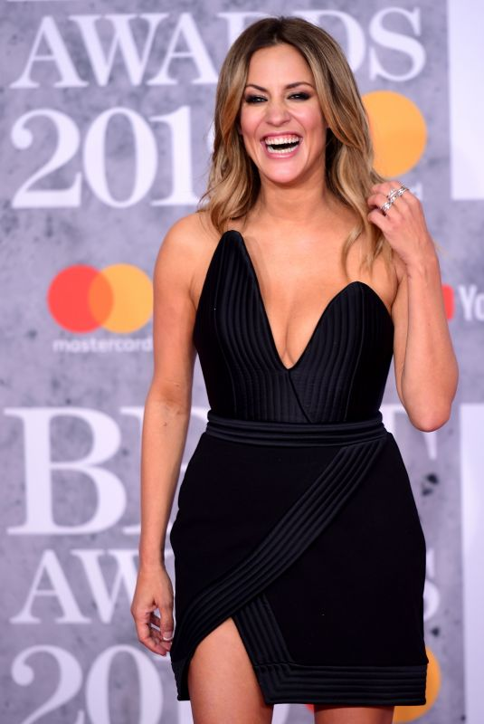 CAROLINE FLACK at Brit Awards 2019 in London 02/20/2019