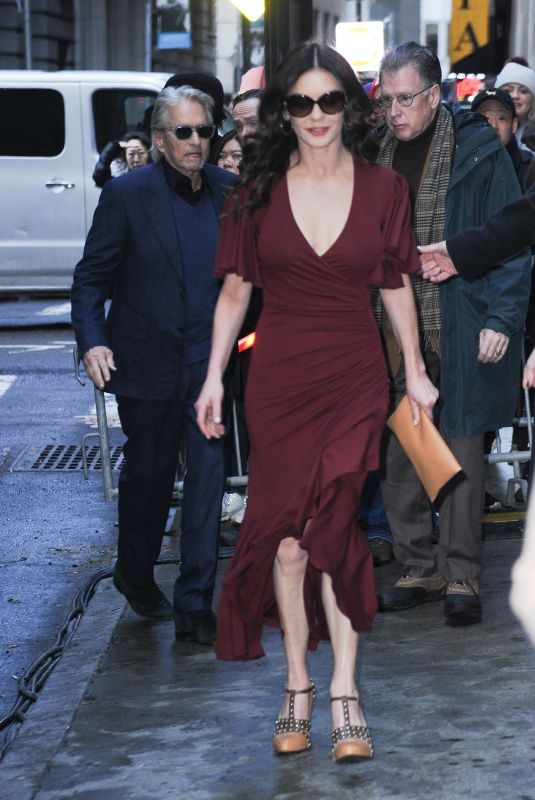 CATHERINE ZETA JONES Arrives at Michael Kors Fashion Show in New York 02/13/2019