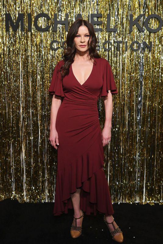 CATHERINE ZETA JONES at Michael Kors Fashion Show in New York 02/13/2019