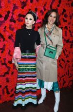 CATRIONA GRAYat Alice + Olivia Fashion Show at NYFW in New York 02/11/2019