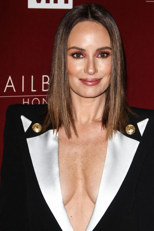 CATT SADLER at VH1 Trailblazer Honors in Los Angeles 02/20/2019