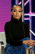 CHANDRA RUSSELL at South Side Panel South Side Panel at Winter TCA Tour 02/11/2019