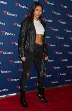 CHANTEL JEFFRIES at Fanatics Super Bowl Party in Atlanta 02/02/2019