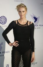 CHARLIZE THERON at Cinema for Peace International Committee and Nominee Dinner 02/10/2019