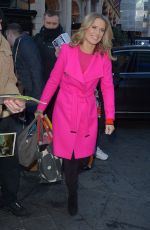 CHARLOTTE HAWKINS at Global Radio in London 01/30/2019