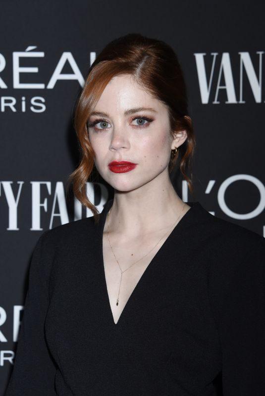 CHARLOTTE HOPE at Vanity Fair & L'Oreal Paris Celebrate New Hollywood in Los Angeles 02/19/2019
