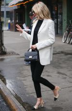 CHARLOTTE MCKINNEY Out and About in New York 02/07/2019