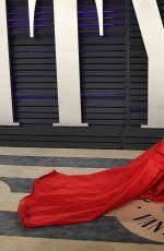 CHIARA FERRAGNI at Vanity Fair Oscar Party in Beverly Hills 02/24/2019