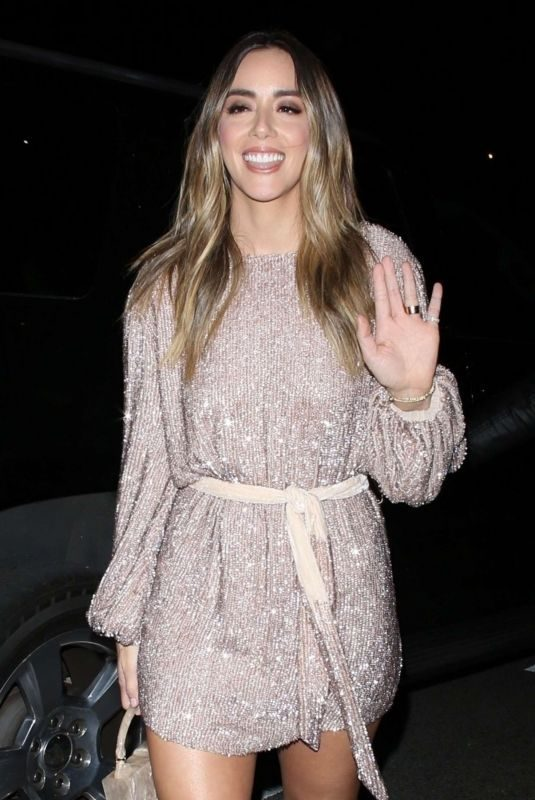 CHLOE BENNET Arrives at Vanity Fair Party in Los Angeles 02/19/2019