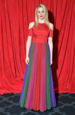CHLOE LUKASIAK at Aha Go Red for Women Red Dress Collection 2019 in New York 02/07/2019