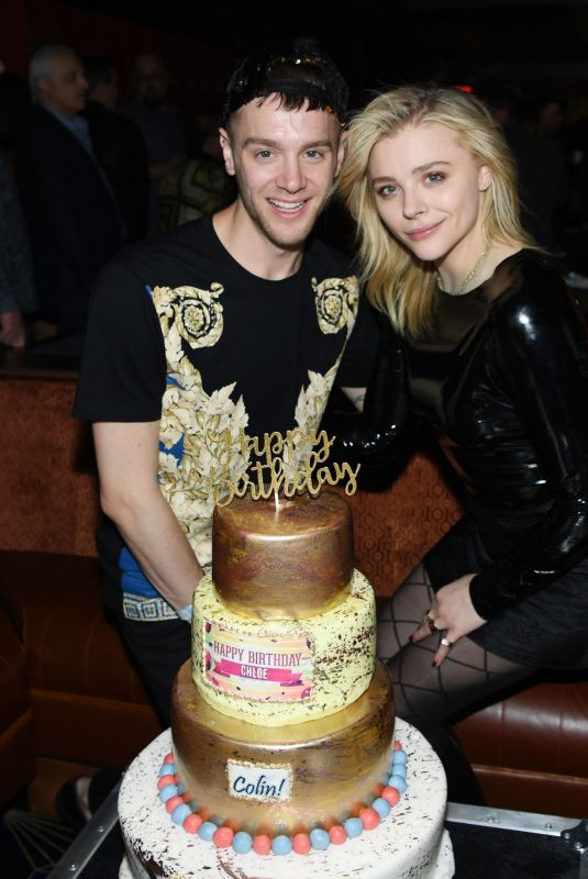 CHLOE MORETZ and Her Brother Celebrating Their Birthday at On the Record 02/02/2019