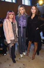CHLOE MORETZ at Coach Fashion Show in New York 02/12/2019