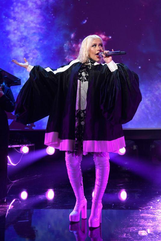 CHRISTINA AGUILERA at Christina Aguilera: The Xperience Las Vegas Launch 01/31/2019
