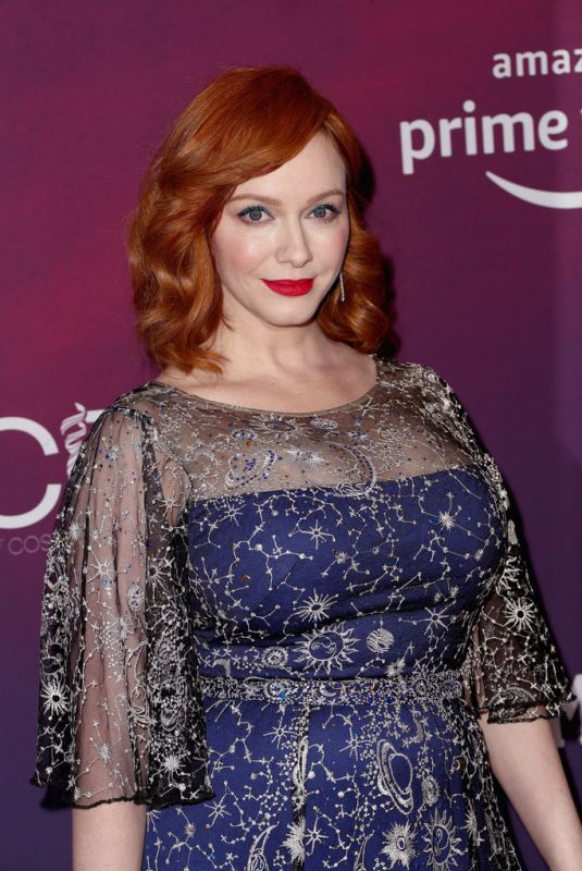 CHRISTINA HENDRICKS at Costume Designers Guild Awards 2019 in Beverly Hills 02/19/2019
