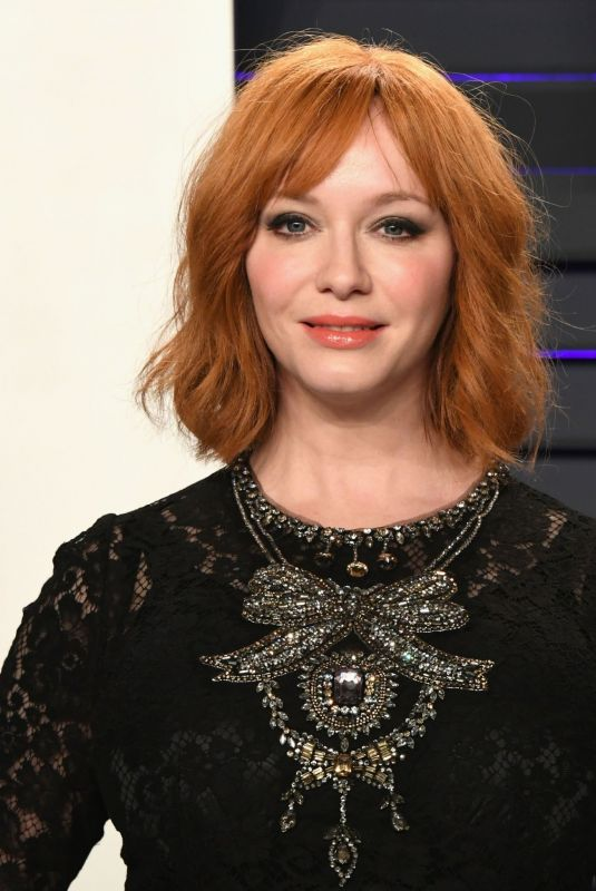 CHRISTINA HENDRICKS at Vanity Fair Oscar Party in Beverly Hills 02/24/2019