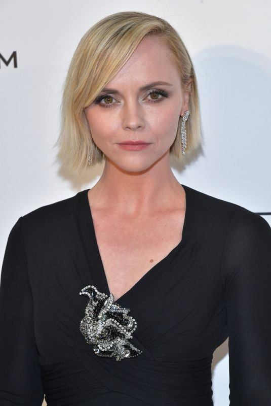 CHRISTINA RICCI at Elton John Aids Foundation Oscar Party in Hollywood 02/24/2019