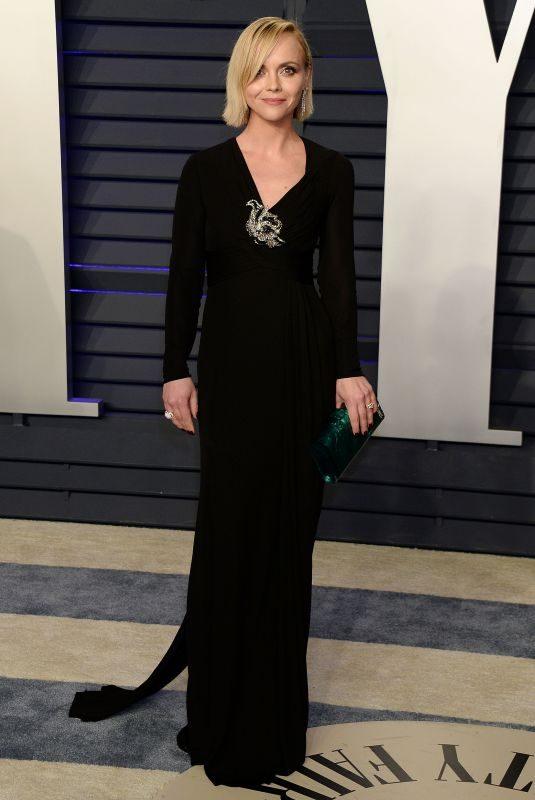 CHRISTINA RICCI at Vanity Fair Oscar Party in Beverly Hills 02/24/2019