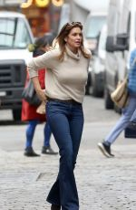 CINDY CRAWFORD Out and About in New York 02/15/2019