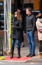 CINDY CRAWFORD Out in New York 02/17/2019