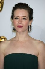 CLAIRE FOY at Bafta Awards 2019 in London 02/10/2019
