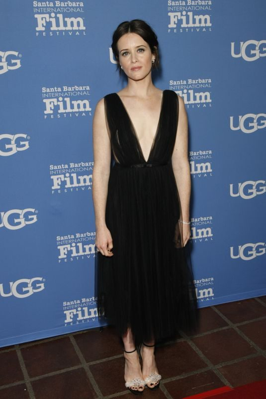 CLAIRE FOY at Virtuosos Award Presented By UGG at 2019 Santa Barbara International Film Festival 02/05/2019