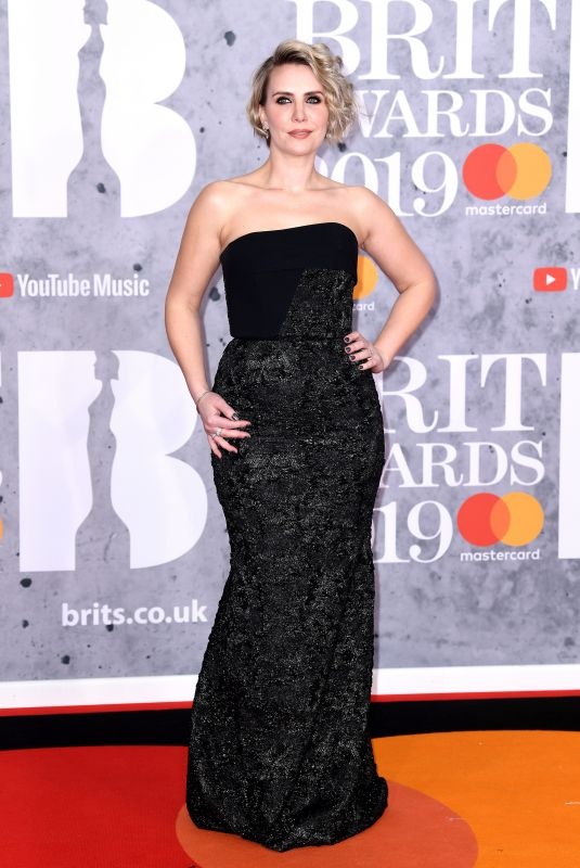 CLAIRE RICHARDS at Brit Awards 2019 in London 02/20/2019