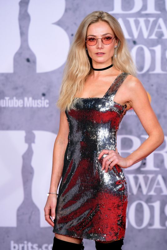 CLARA PAGET at Brit Awards 2019 in London 02/20/2019