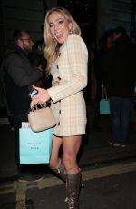 CLARA PAGET at British Vogue Fashion and Film Bafta Party 02/10/2019