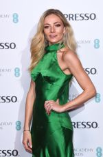 CLARA PAGET at Nespresso BAFTA Nominees Party in London 02/09/2019