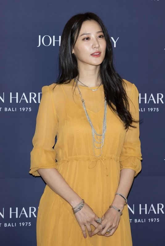 CLAUDIA KIM at John Hardy Fashion Photocall in Seoul 02/13/2019