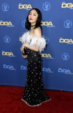 CONSTANCE WU at Directors Guild of America Awards in Los Angeles 02/02/2019