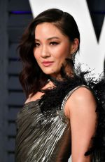 CONSTANCE WU at Vanity Fair Oscar Party in Beverly Hills 02/24/2019