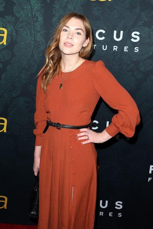 COURTNEY HALVERSON at Greta Premiere in Hollywood 02/26/2019