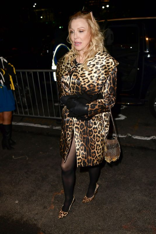 COURTNEY LOVE Arrives at Jeremy Scott Fashion Show in New York 02/08/2019