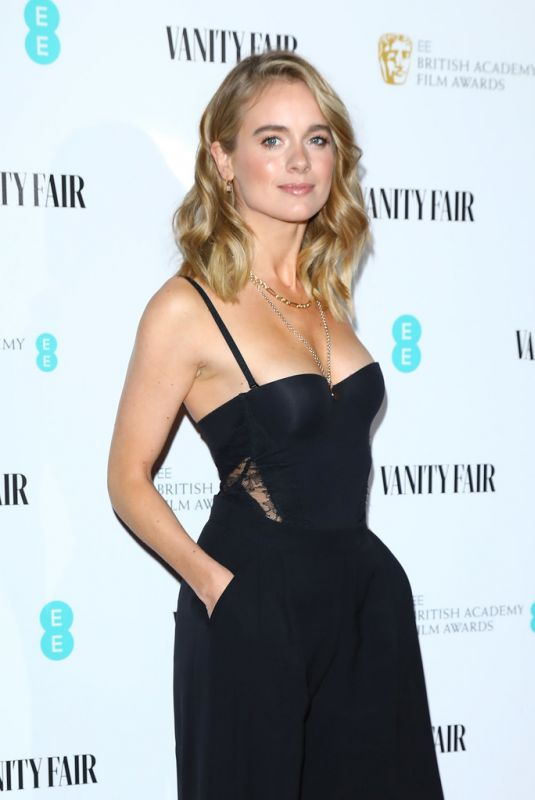 CRESSIDA BONAS at Vanity Fair EE Rising Star Party in London 01/31/2019