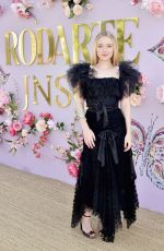 DAKOTA FANNING at Rodarte Fashion Show in San Marino 02/05/2019