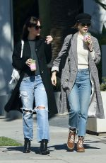DAKOTA JOHNSON and ROISIN DONNELLY Out for Juice in West Hollywood 02/06/2019