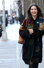 DALEELA ECHAHLY Out at New York Fashion Week 02/04/2019